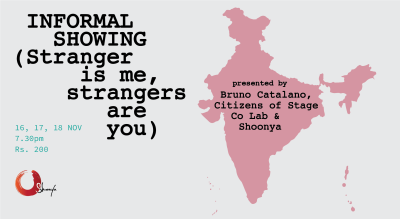 Informal showing (Stranger is me, strangers are you)