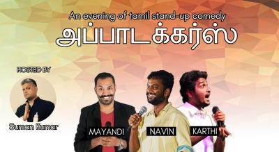 Appatuckers- An Evening of Tamil Stand-Up Comedy