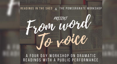 From Words to Voice – A Dramatized Reading Workshop for Adults