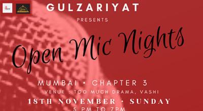 Gulzariyat 's Open Mic Mumbai - Chapter 3