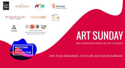 Art Sunday: Free workshops based on Art & Science