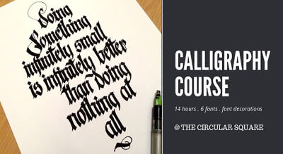 Calligraphy - Weekend Course