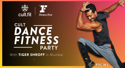Cult Dance Fitness Party with Tiger Shroff