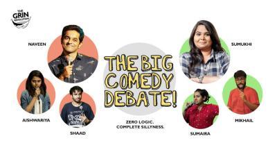 Grin Revolution: The Big Comedy Debate