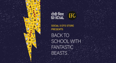 Social X EFG Store presents: Back To School w/ Fantastic Beasts