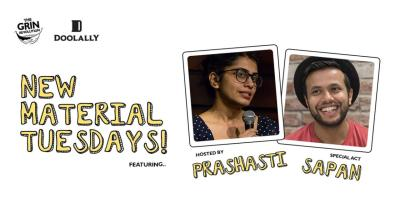 Grin Revolution: New Material Tuesdays with Prashasti Singh