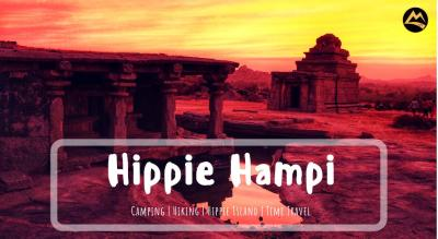 the hippie island of hampi new year camping muddie trails