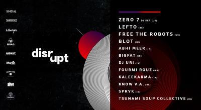 Disrupt Festival 2018