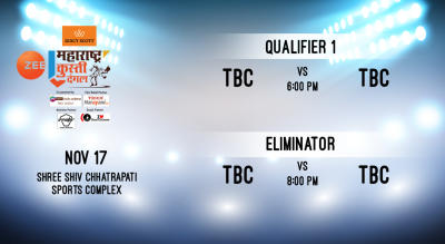 ZMKD: Qualifier 1 - TBC v TBC and Eliminator - TBC v TBC