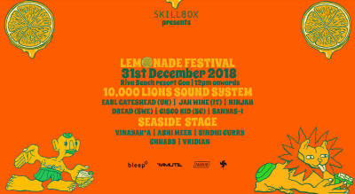 Lemonade Festival, Goa
