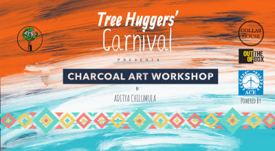Road to Tree Huggers' Carnival: Charcoal Art Workshop