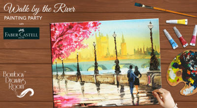 Walk by the River Painting Party by Bombay Drawing Room