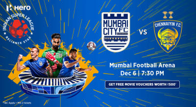 Hero Indian Super League 2018-19: Mumbai City FC vs Chennaiyin FC