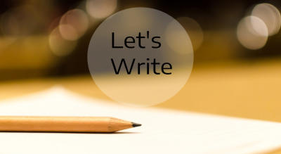 Let's Write - By Dialogue's Cafe