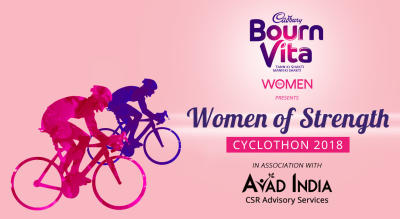 Bournvita for Women presents Women of Strength Cyclothon 2018