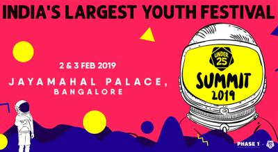 Under 25 Summit 2019 Bangalore