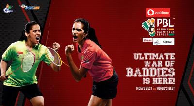 Sign up for updates on Vodafone Premier Badminton League 2018-19