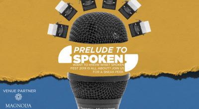 Prelude To Spoken #1 at Magnolia, Worli