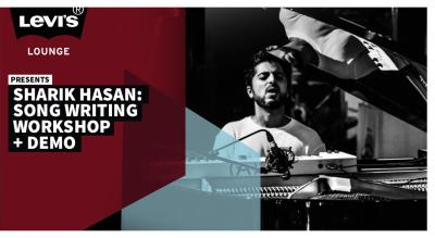 Levi's® Lounge presents Sharik Hasan: Songwriting Workshop + Demo