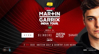 Power Arena - Martin Garrix India Tour, Delhi