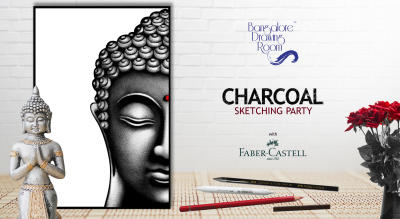 Charcoal Sketching Party by Bangalore Drawing Room