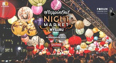 SteppinOut Night Market Mysuru