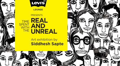 Levi's® Lounge presents Time spent with the real and unreal. Art Exhibition by Siddhesh Sapte