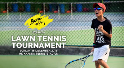 Born To Play Lawn Tennis Winter Championship: Dec'18 Edition