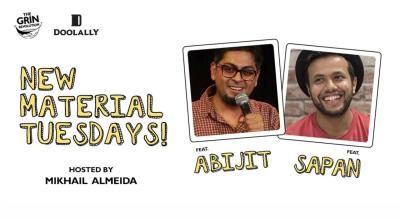 Grin Revolution: New Material Tuesdays with Sapan and Abijit