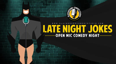 Late Night Jokes - Comedy Open Mic