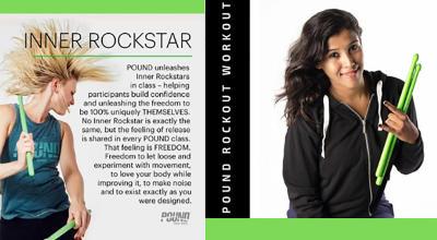Pound Rockout Workout Masterclass With PoundPro Cliszma DaCosta