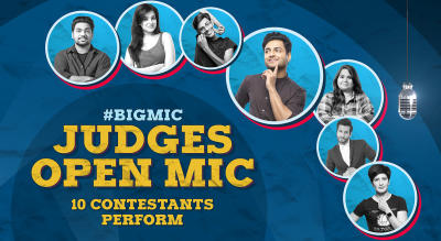 #BIGMIC Judges Open Mic hosted by Kenny Sebastian