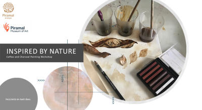 Inspired by Nature | Coffe and charcoal painting workshop