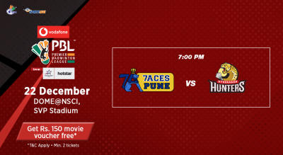V-PBL: Pune 7Aces vs Hyderabad Hunters