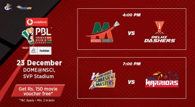 V-PBL: Mumbai Rockets vs Delhi Dashers and Ahmedabad Smash Masters vs North Eastern Warriors