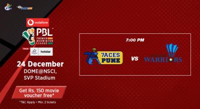 V-PBL: Pune 7Aces vs Awadhe Warriors