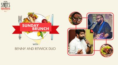 Sunday Brunch With Live Music by Benny & Ritwick