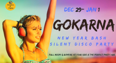 Gokarna - Silent Disco Beach Party - New Year bash