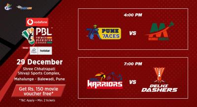 V-PBL: Pune 7Aces vs Mumbai Rockets and North Eastern Warriors vs Delhi Dashers