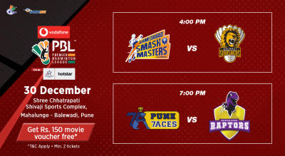 V-PBL: Ahmedabad Smash Masters vs Chennai Smashers and Pune 7Aces vs Bengaluru Raptors