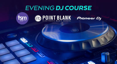 Evening DJ Course certified by Point Blank Music School, London