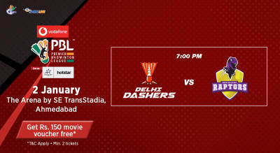V-PBL: Delhi Dashers vs Bengaluru Raptors