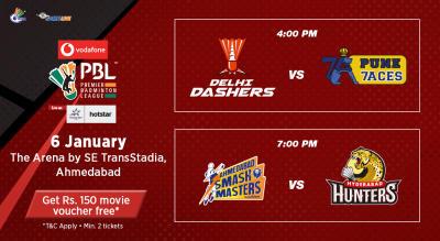 V-PBL: Delhi Dashers vs Pune 7Aces and Ahmedabad Smash Masters vs Hyderabad Hunters
