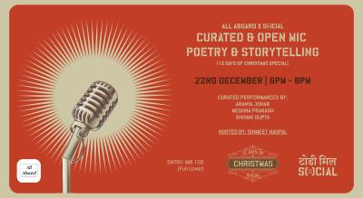 All Aboard x Social: Curated + Open Mic Poetry & Storytelling (Christmas Edition)