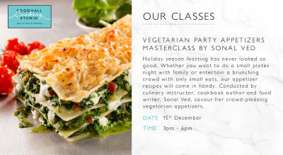 Gourmet Vegetarian Cooking with Sonal Ved