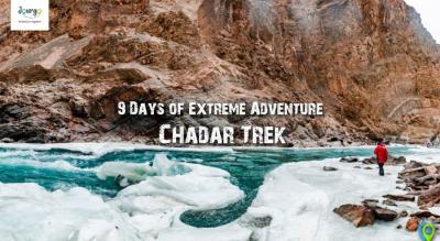 The Chadar Frozen River Trek 2019 (8N/9D) | Jourgo Travel Agency