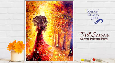 Fall Season Canvas Painting Party by Bombay Drawing Room