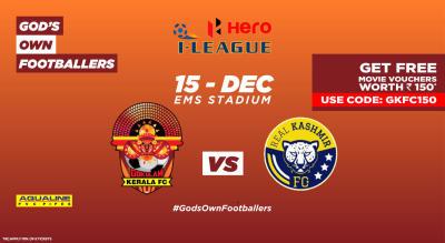 Hero I-League 2018-19: Gokulam Kerala FC vs Real Kashmir FC