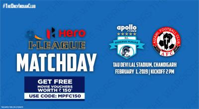 Hero I-League 2018-19: Minerva Punjab FC vs Aizawl FC