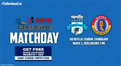 Hero I-League 2018-19: Minerva Punjab FC vs Quess East Bengal FC